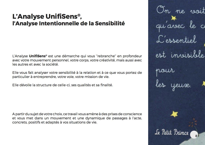 L'Analyse UnifiSens