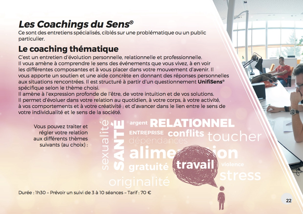 Les coachings du sens