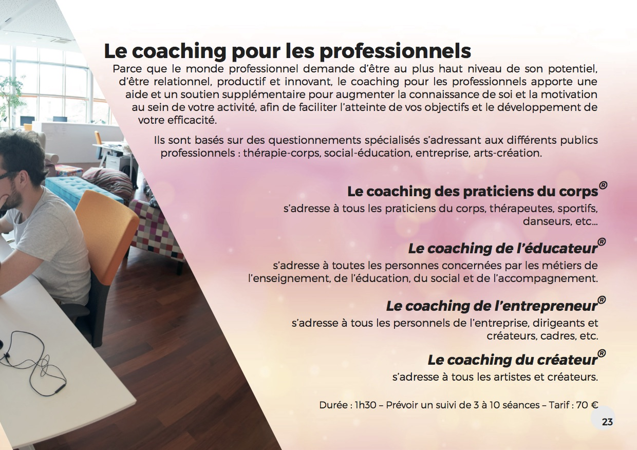 Les coachings pro unifisens