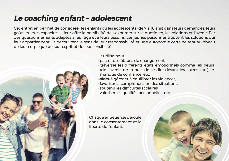 Présentation coaching enfant-ado
