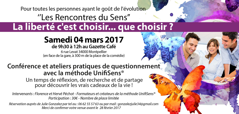 Rencontre du Sens à Montpellier